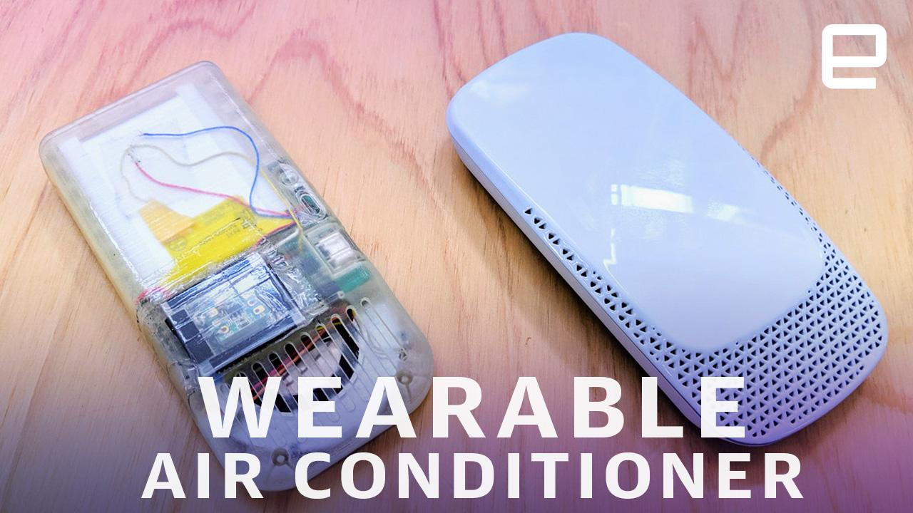 Sony is crowdfunding a wearable 'air conditioner' (updated)