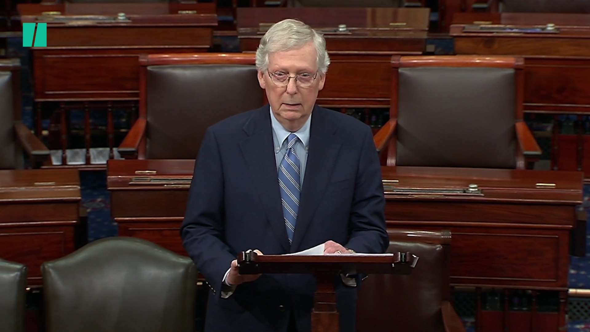 Mitch McConnell Rails Against 'Moscow Mitch' Nickname: It's 'Over The Top'