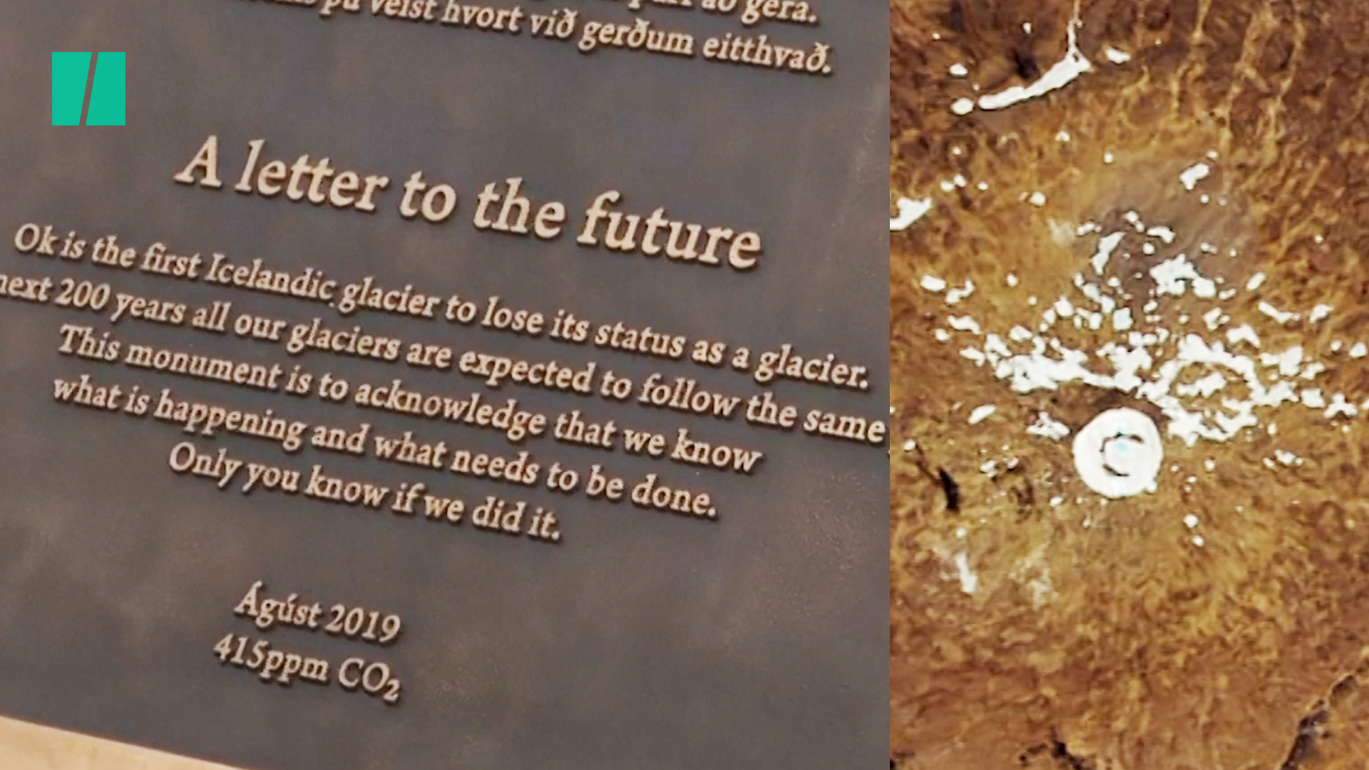 Iceland Holds Funeral Honoring Glacier That Melted Away