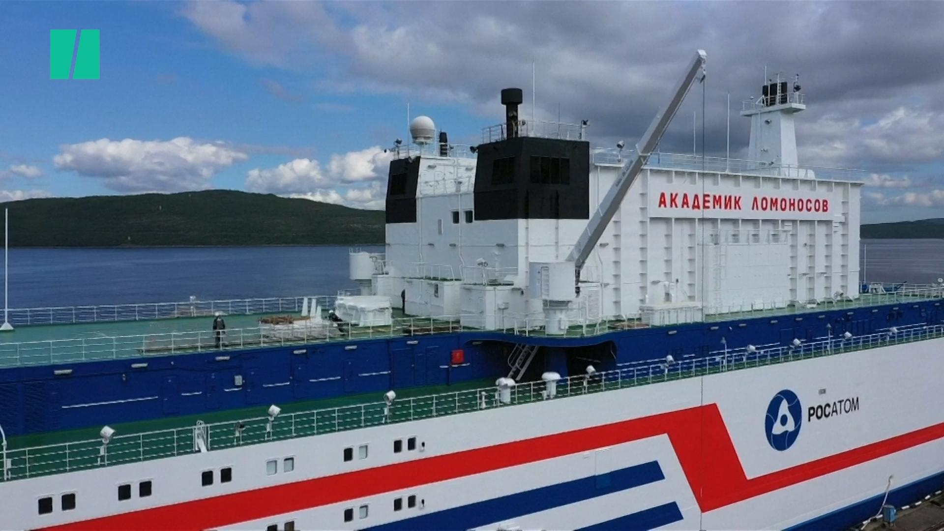 Russia's Floating Nuclear Power Plant Is Ready For Northern Sea Route