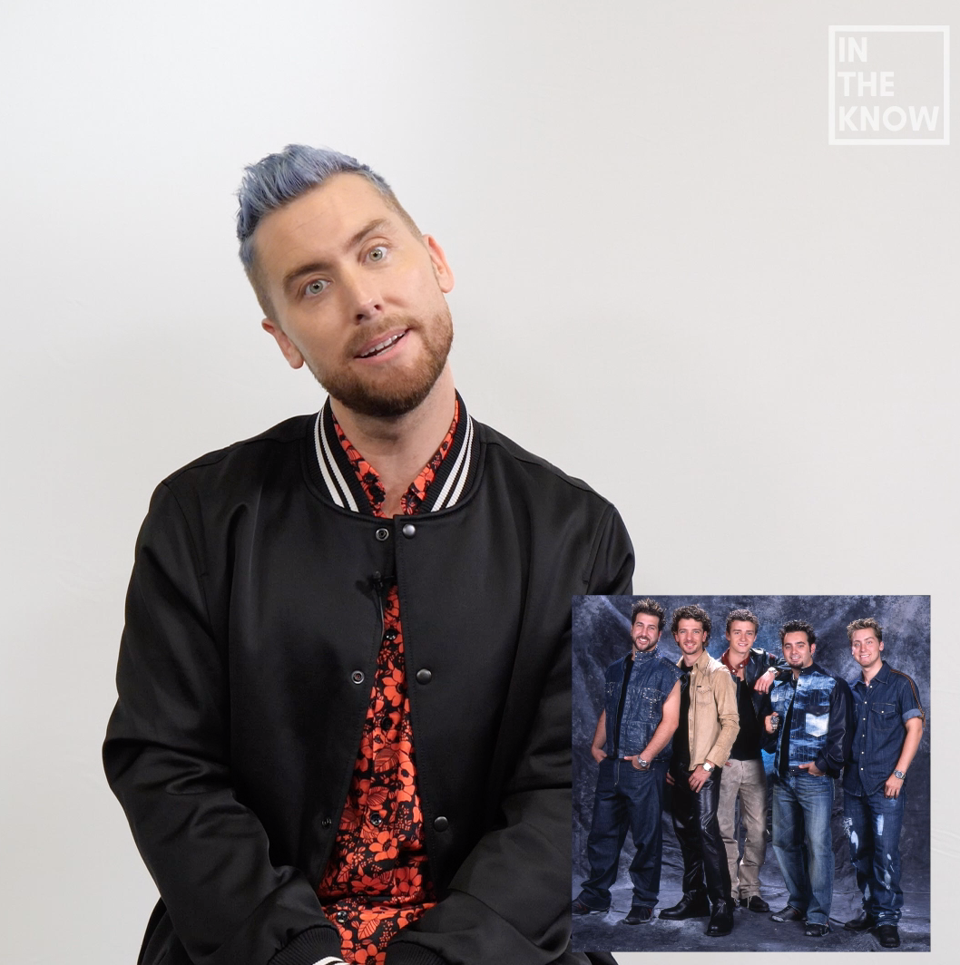 Lance Bass reacts to NSYNC's wildest red carpet looks: Watch! (Exclusive)