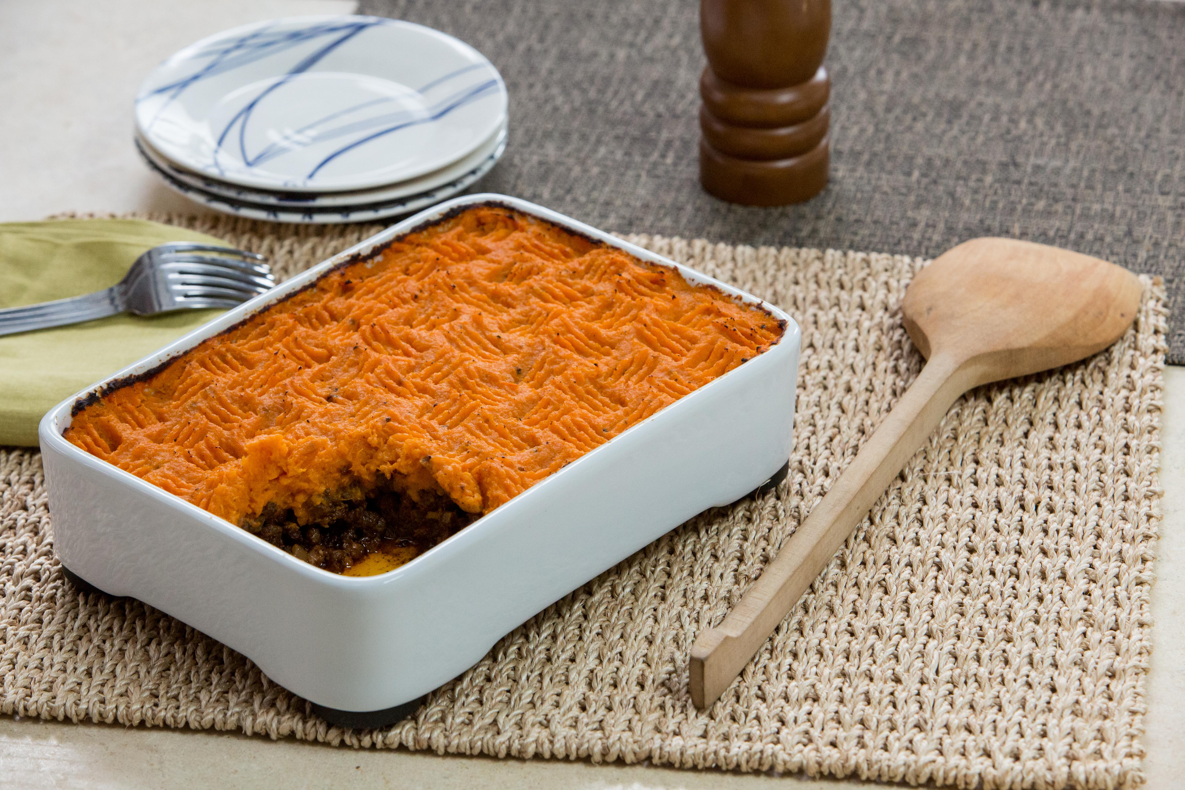 This sweet potato shepherd's pie is the ultimate comfort food