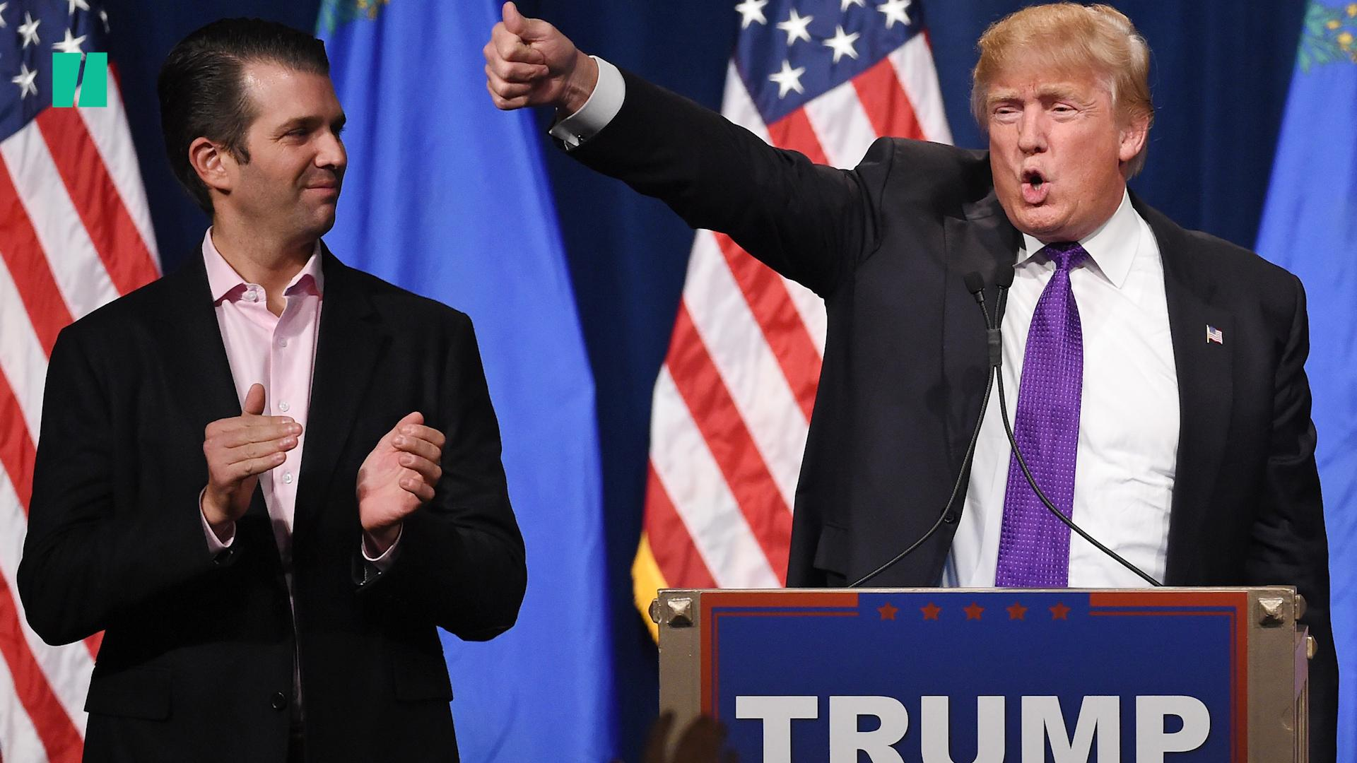 World's 'Saddest' Rally? Donald Trump Jr. Mocked For Speaking To Mostly Empty Arena