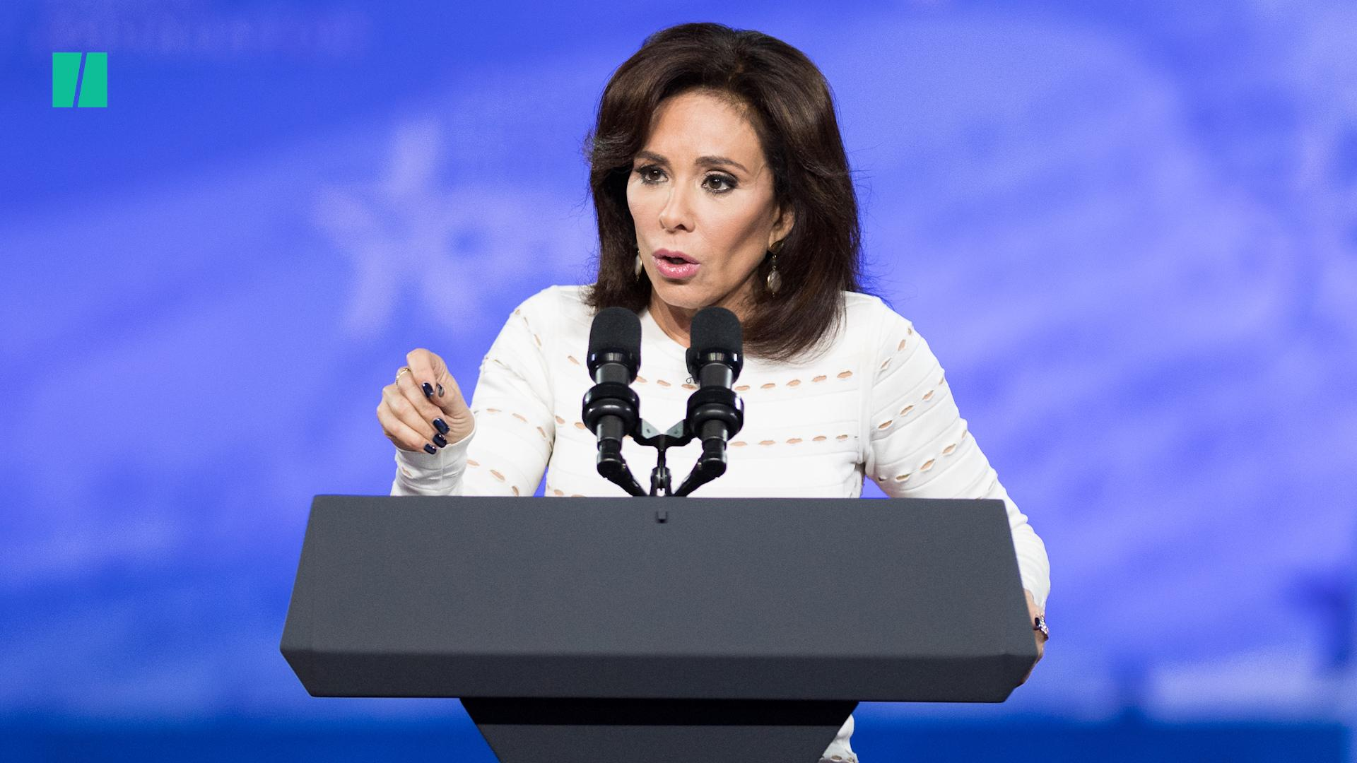 Jeanine Pirro Caught On Hot Mic Beefing About Fox News Suspension