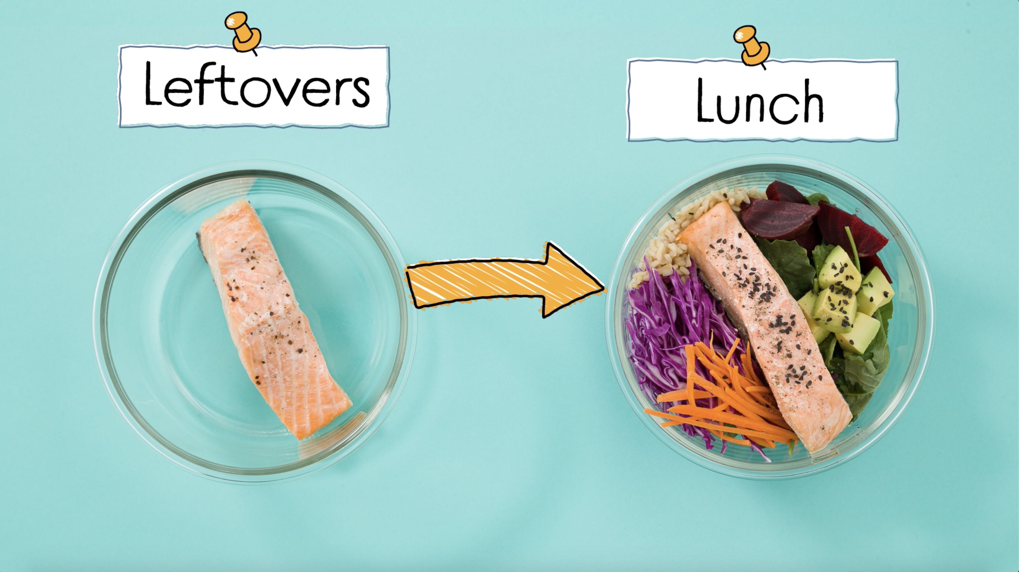 Use these recipes to reimagine your leftovers and pack yourself a delicious lunch