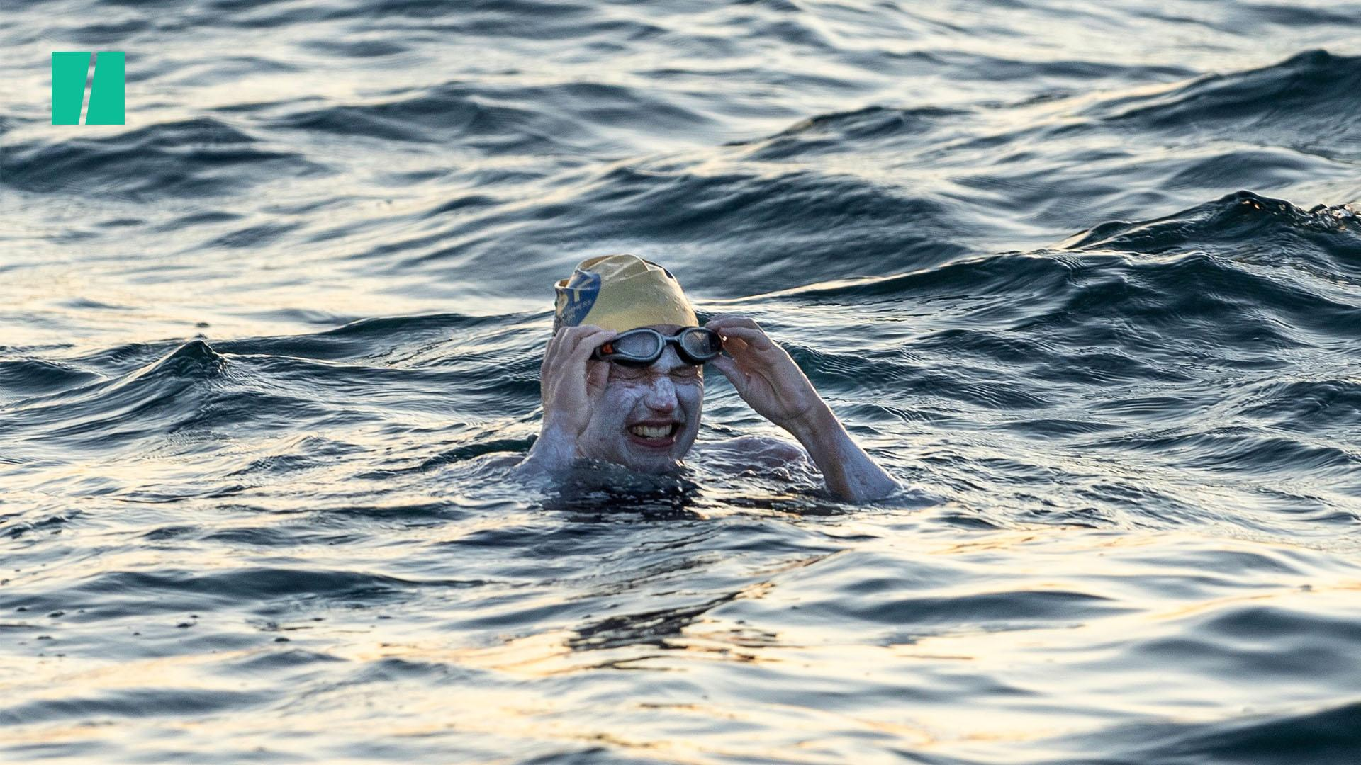 Sarah Thomas Becomes First Person To Swim Across The English Channel Four Times Without Stopping