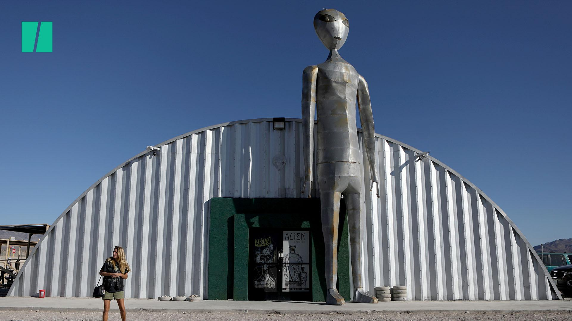 UFO Enthusiasts Arrive in Nevada To Storm Area 51