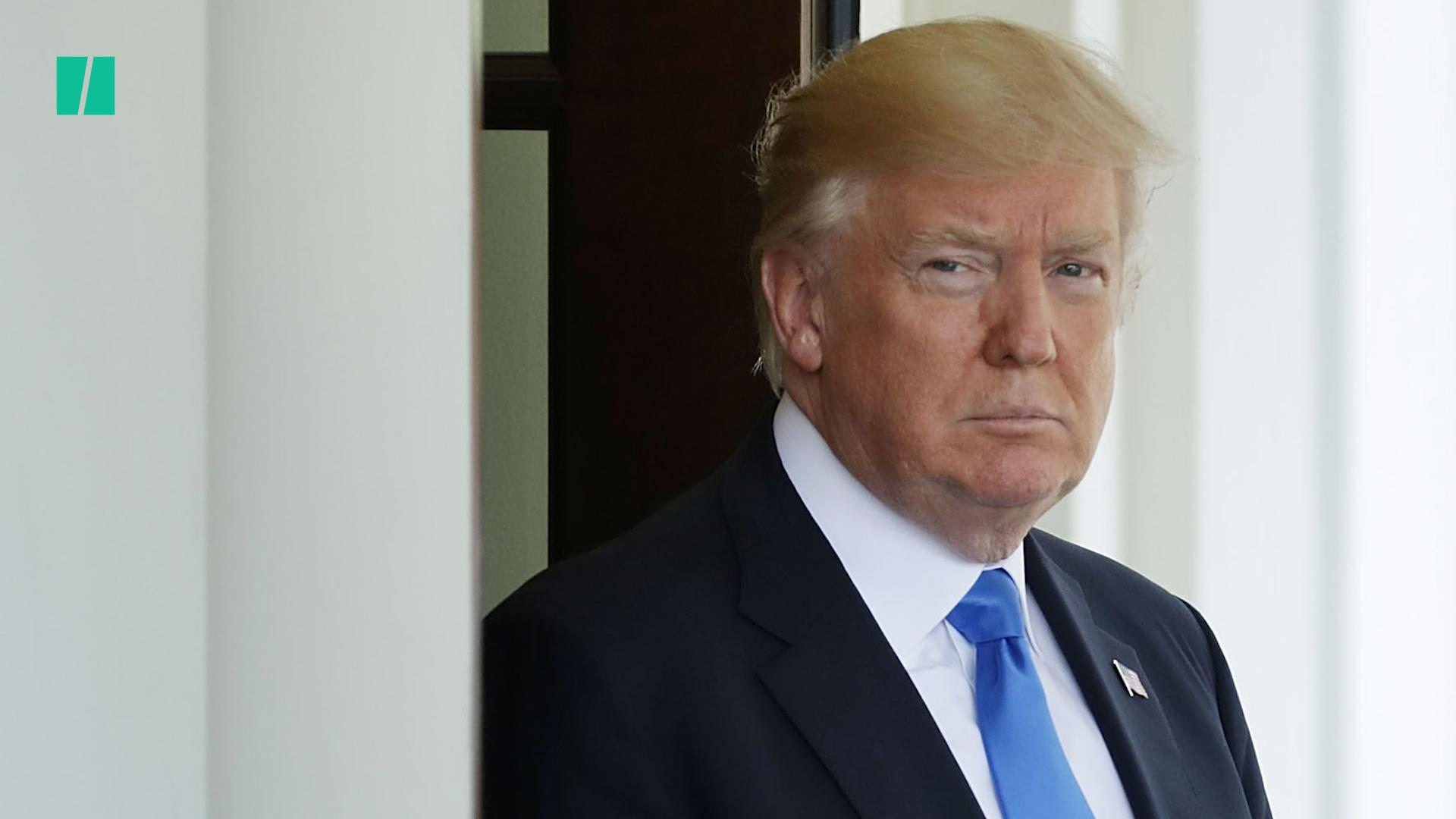 Trump Pushes Debunked Conspiracy Theory About Whistleblower Reports