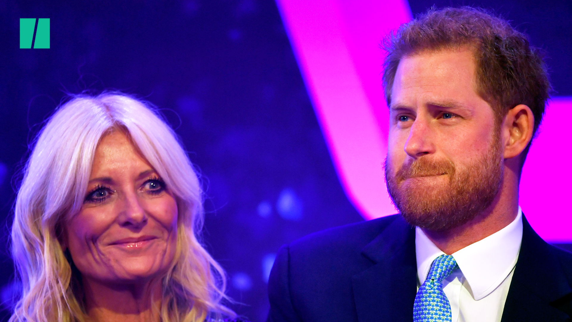 Prince Harry Can't Stop The Tears During Poignant Speech About Parenthood