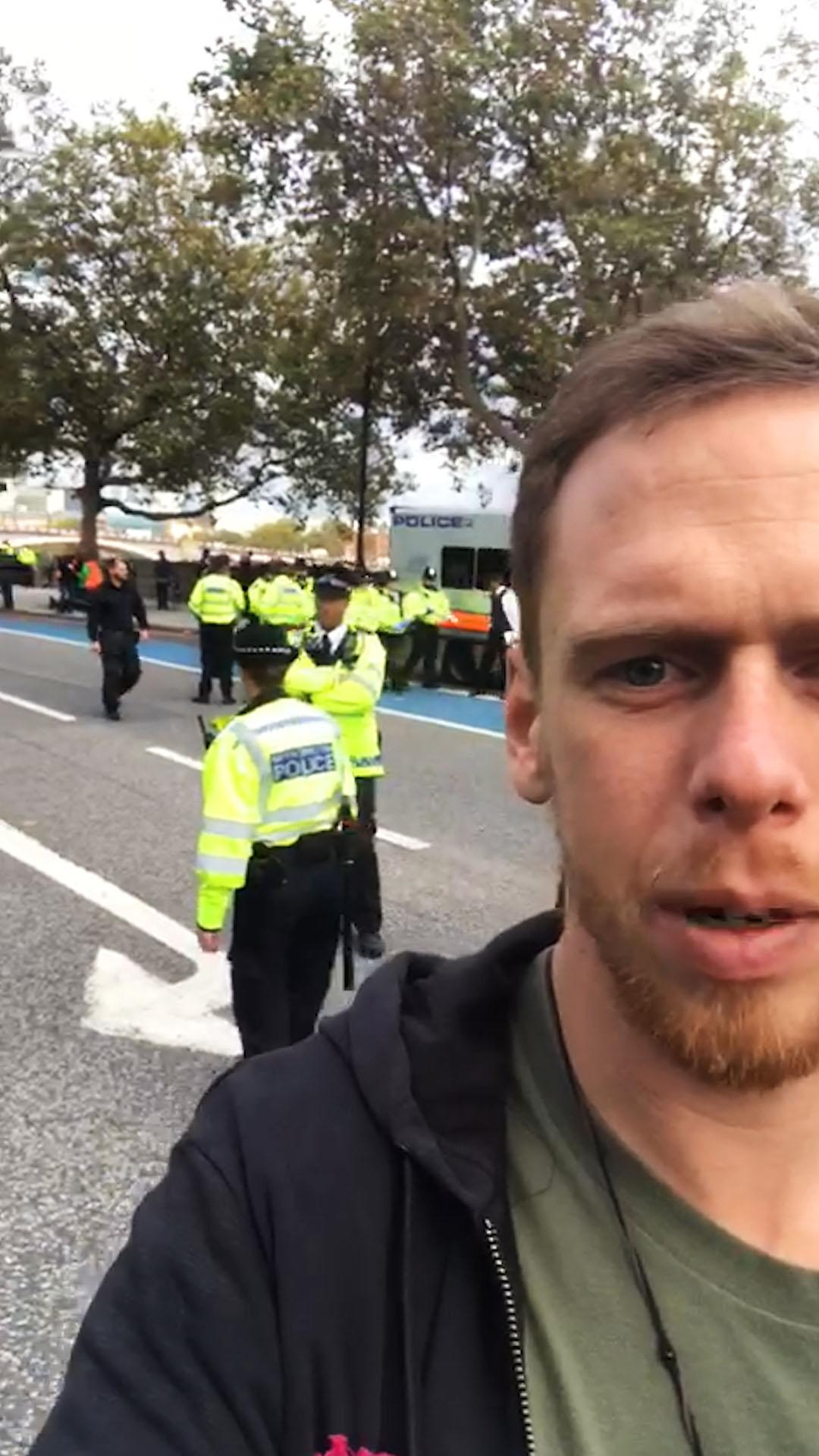 A Day In The Life Of An Extinction Rebellion Protestor