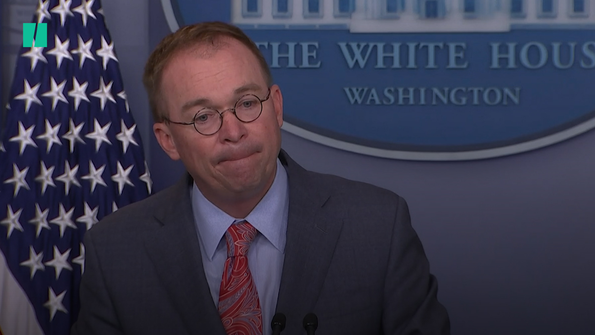 Twitter Critics Bash Mulvaney For Ordering Us Not To Believe Our Own Ears