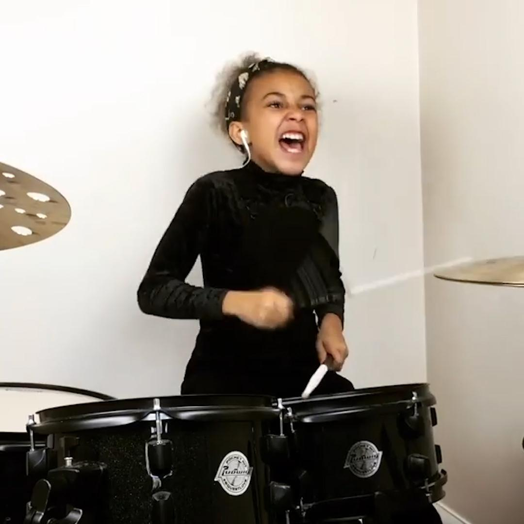 9-year-old prodigy goes viral with Nirvana cover: 'That's exactly how drums should be played!'