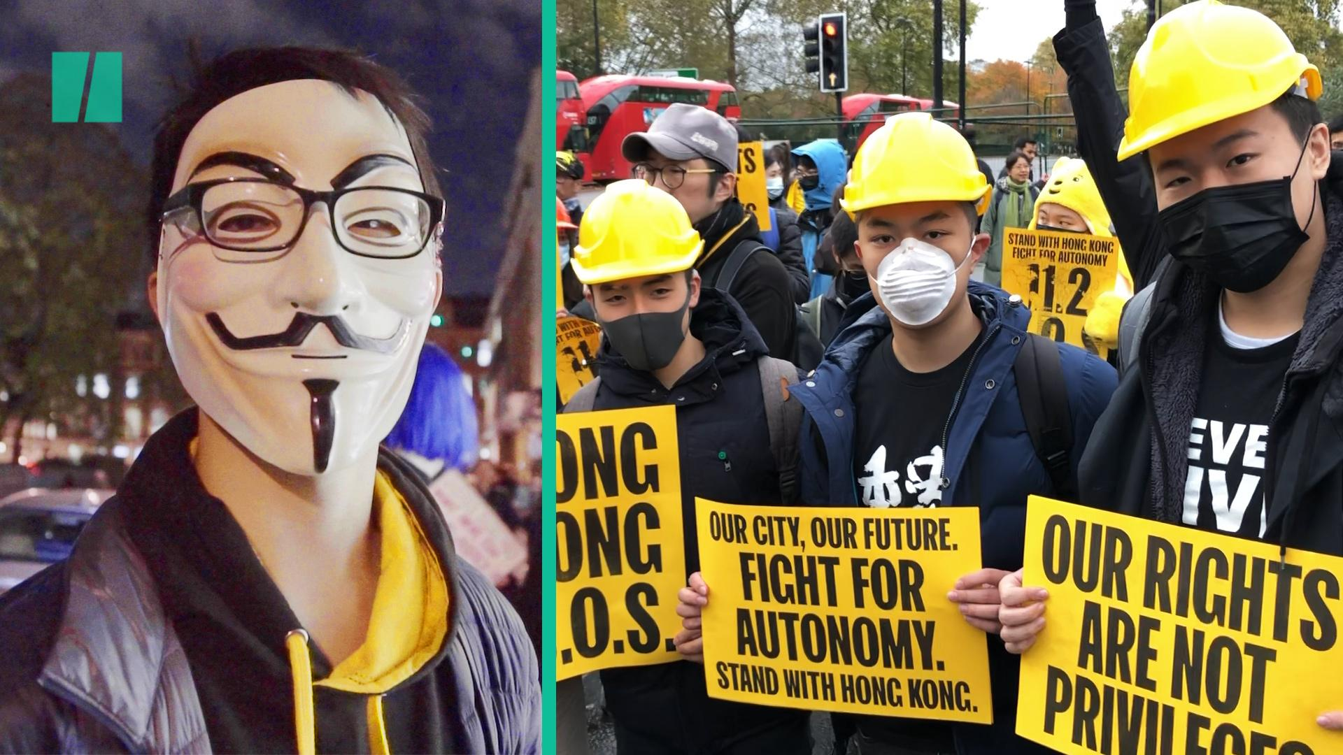 Hong Kong Students Protesting From The UK Want The UK Gov To Stand With Pro-Democracy Movement
