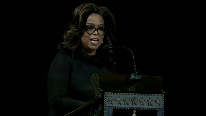 Oprah Winfrey At Toni Morrison Memorial: She Took The Canon And Broke It Open