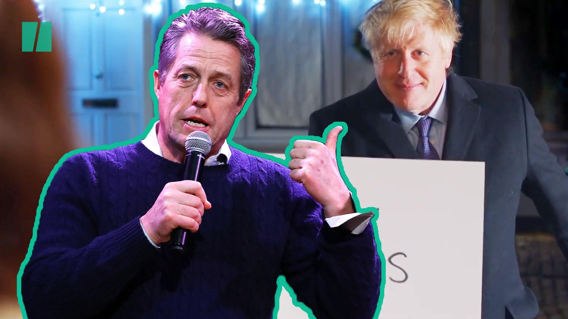 Hugh Grant Weighs In On Boris Johnson's Love Actually Parody