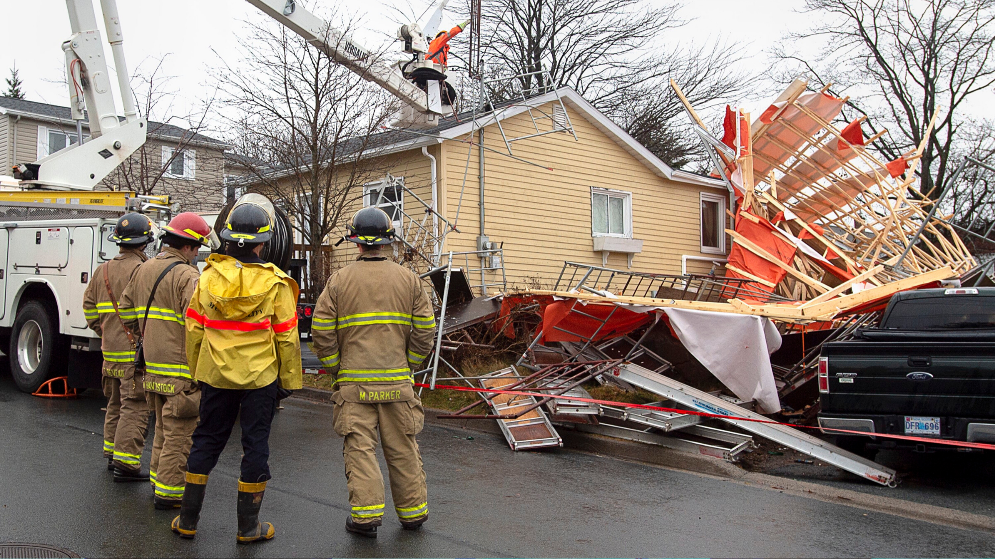 Atlantic Canada Storm Leaves Tens Of Thousands Without Power