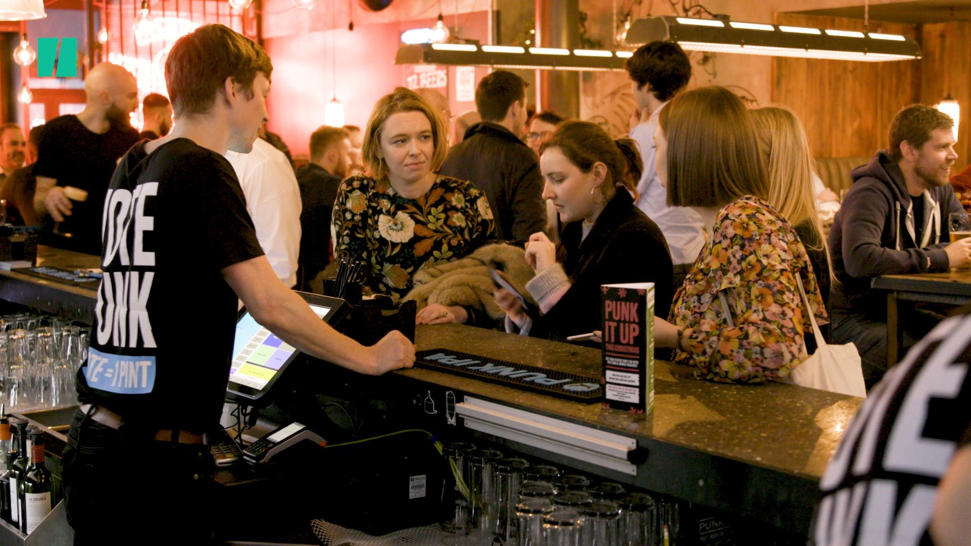 From Ballot Boxes To Beers, Voters Enjoy A Pint On The House