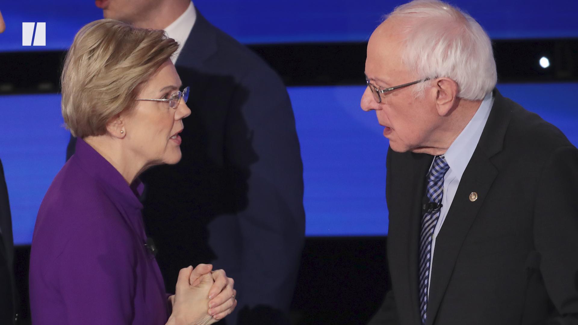 Elizabeth Warren-Bernie Sanders Dispute Reverberates On Campaign Trail