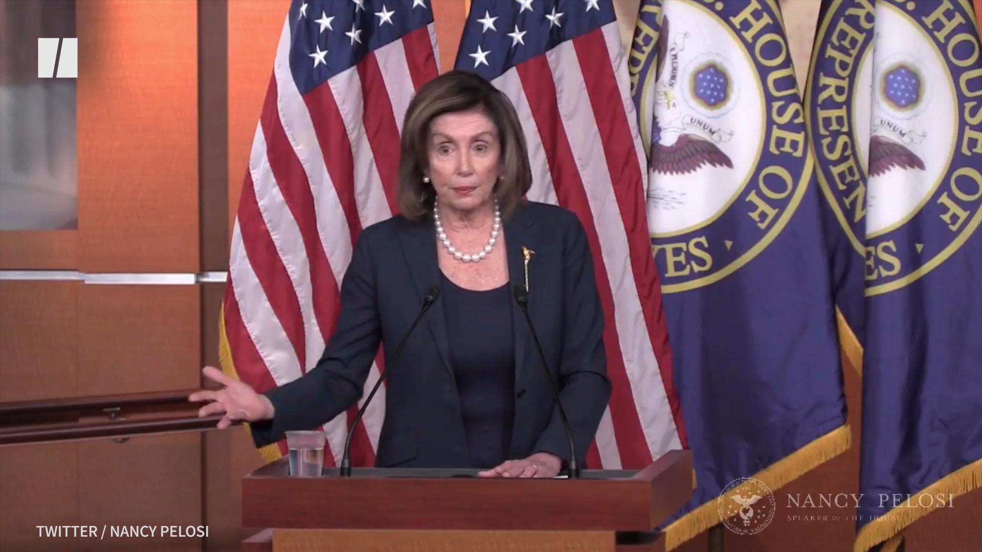 Nancy Pelosi Lays Into 'Shameful' Facebook In Blistering Remarks