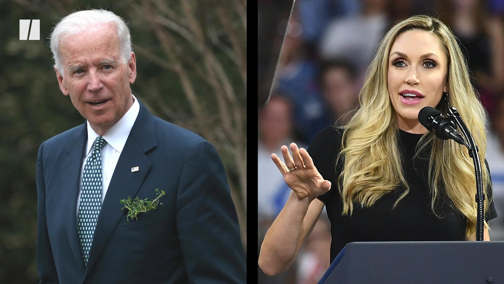 Lara Trump mocks Joe Biden for speech impediment: 'Let's get the words out'