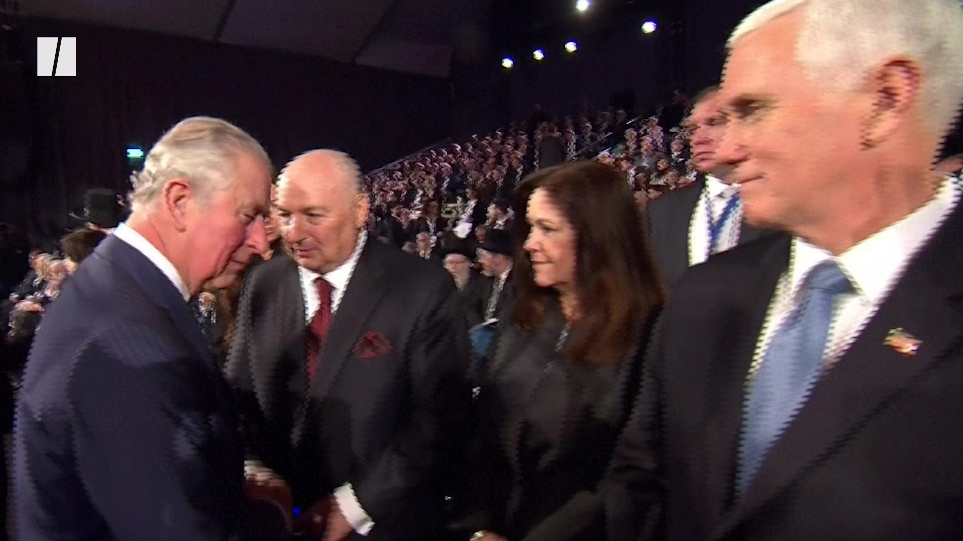 Twitter Users Debate Whether Prince Charles Really Snubbed Mike Pence