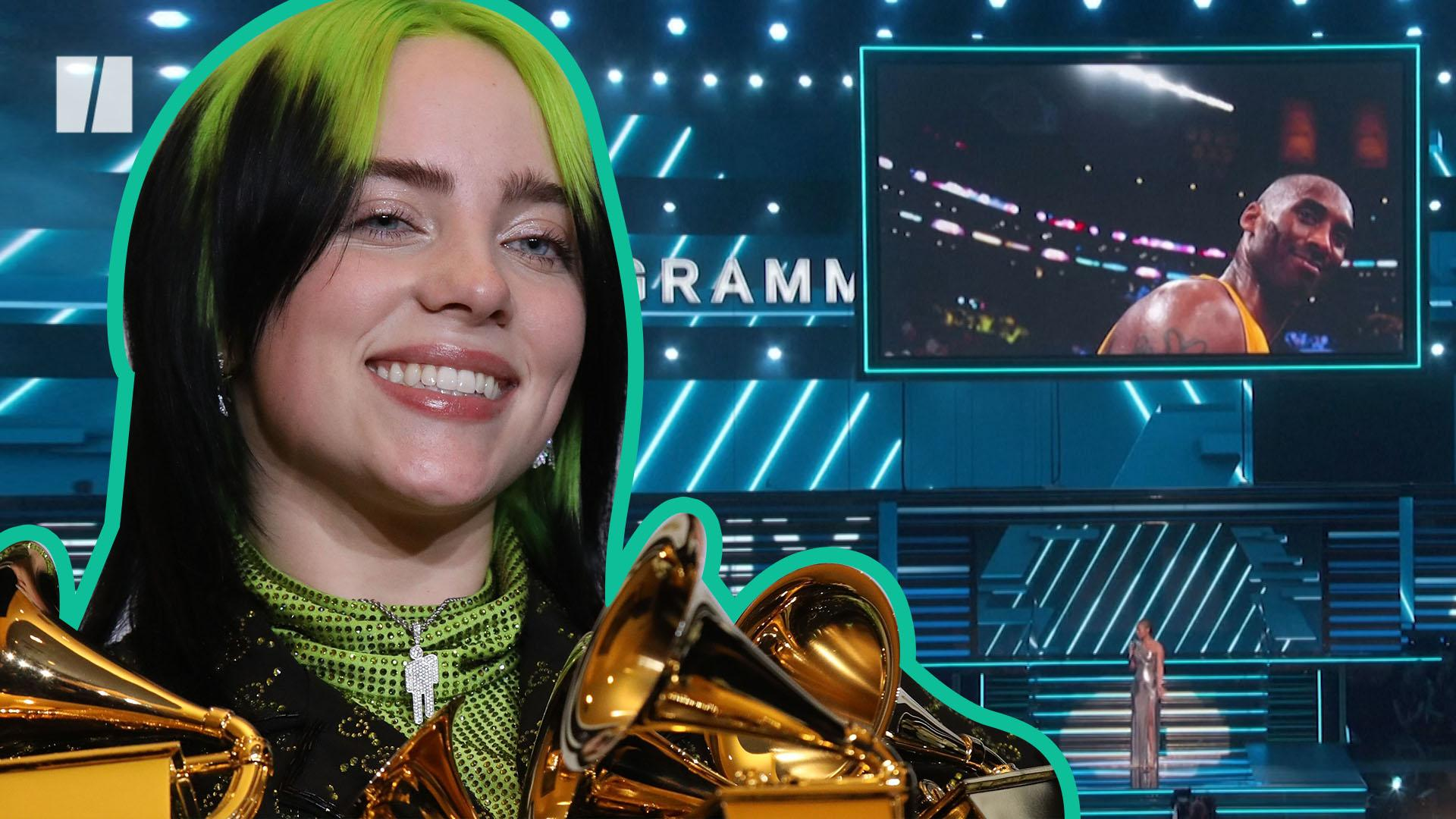 Grammys 2020: Billie Eilish Cleans Up And Kobe Bryant Remembered